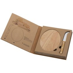ECO - Cheese Set With Wooden Cutting Board