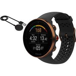 Polar Vantage M Multi Sport Gps Heart Rate Watch - Black copper M l With Bonus USB Charging Cable