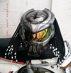 ART Helmet Thai Hat 47 Custom Predator Motorcycle Helmet S = 55-56 Cm