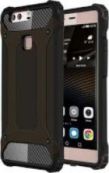 Tuff-Luv Armour Tough Case for Huawei P9 Plus in Black