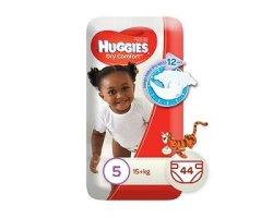 Huggies Dry Comfort 44 Nappies Size 5