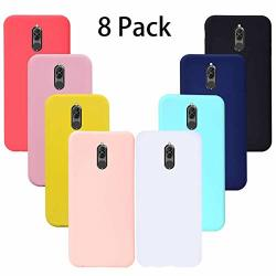 8 Pack Huawei Mate 10 Lite Case Anti-drop Soft Silicone Gel Rubber Bumper Phone Case Shell Shockproof Case Cover For Huawei Mate