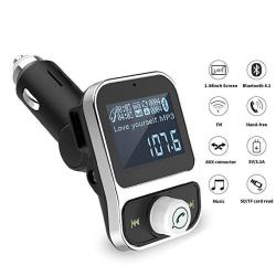 pretty nice 4d47a 3959d FM Transmitter For Car Iphone 7 Plus 8 X 6S With Aux Port Bluetooth Radio  Adapter Car Kit Modulator With USB Charger & | R822.00 | Electrical ...
