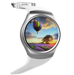 Kingwear KW18 Bluetooth Smartwatch phone For Iphone Ios & Android Devices - White