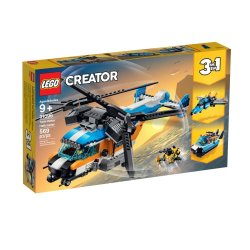 31096 Lego Creator Twin Rotor Helicopter