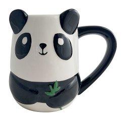 Tag Baby Panda Figural Hand Painted Mug 16 Ounce