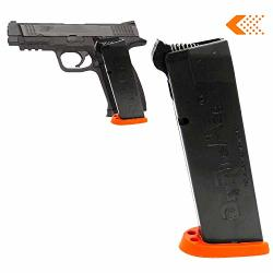 Training Dryfiremag Magazine For Smith & Wesson M&p Dry Fire With Audible & Tactile Simulation Apex Trigger Compatible Safe For