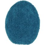 Mainstays Basic Bath Toilet Seat Cover Solid Turquoise