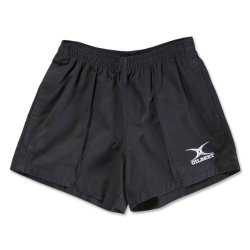 Gilbert Kiwi Pro Rugby Short Black Large