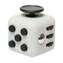 EDC Fidgeter Grey Fidget Cube Prime Quality Anti Stress Fidget Cube. Anti Anxiety Kids Fidget Spinner Cube. 6 Sided Fidget Cubes.