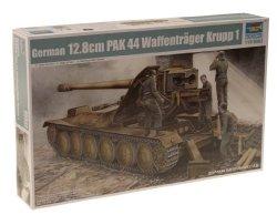 Trumpeter 1 35 German Krupp 1 12.8CM Pak 44 Waffentrager Weapons Carrier Model Kit