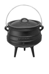 AfriTrail - Cast Iron Potjie Pot - Size 3