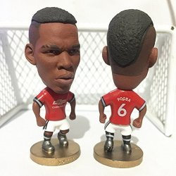 Soccer Manchester United 6 Pogba Toy Figure 2.5