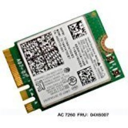 Intel Dual Band Wireless-ac 7260 7260 Wifi + Bluetooth 4 0 Combo Card For  Lenovo N20 Chr Omebook Fru 04X6007 20200552 T440 T440S | R1285 00 | Other