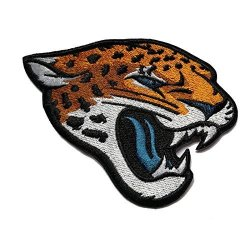 Jacksonville Jaguars Jags Iron On Nfl Football Jersey Chest Patch