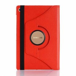 Rotate Case Stand For Samsung Galaxy Tab S5E Red