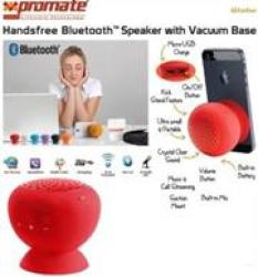 Promate Globo 2 Portable Bluetooth 3.0 Speaker Red Retail Box
