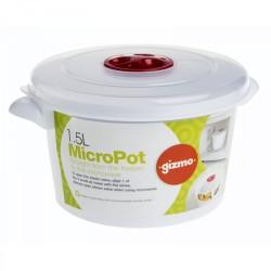 Gizmo 1.5l Microwave Pot