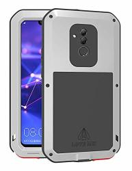 Huawei MATE20 Lite Case Love Mei Full Body Outdoor Shockproof Heavy Duty Hybrid Aluminum Metal Armor Dirtproof Snowproof Cover Shell For Huawei MATE-20-LITE 6.3-INCH