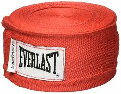 Everlast Professional Hand Wraps 180-INCH Red