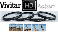 4PC +1 +2 +4 +10 Vivitar Close Up Macro Lens Set For Canon Vixia Hf G30 G40