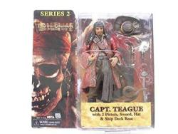 Neca Pirates of the Caribbean: At Worlds End Series 2 > Captain Teague Action Figure