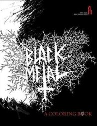 Black Metal - A Coloring Book Paperback