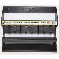 MagStorage Solutions Adjustable Pistol Magazine And Ammo Holder .22CAL Through .45CAL