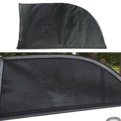664c3a273999 Quaant Car Sun Shade 2X Car Side Rear Window Uv Mesh Sun Shades Blind Kids  Children