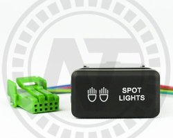 toyota factory fitting switches for vigo spot lights horizontaltoyota factory fitting switches for vigo spot lights horizontal