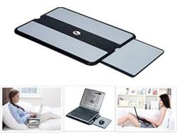 4730091cf79f Max Smart Laptop Lap Pad - Laptop Stand Pad W Retractable Mouse Pad Tray  Anti-slip Heat Shield Tablet Notebook Computer Stand Table Cooler Working |  R ...