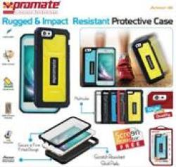 Promate ARMOR-I6 Rugged & Impact Resistant Protective Case For Iphone 6 Colour:white 6959144016696