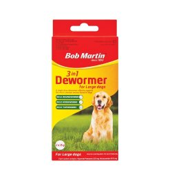 Bob Martin 3IN1 Dewormer Dogs Large