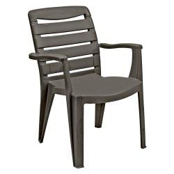 Contour Mia High Back Chair Black
