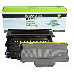 Greencycle 1 Drum + 1 Toner Replacement Toner Cartridge And Drum Set For Brother DR360 + TN360 HL-2140 2150 2170 Series Printer