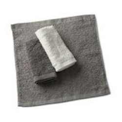 HAND 6 Towels In Basket - Available In: Grey