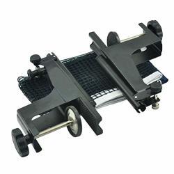 Lesmin Table Tennis Thicken Net Set Clip On Post Set Easy Assemble Suit For Table Tennis Table Thickness 2.5-8CM