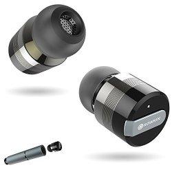 5b497420b20 Rowkin Bit Stereo True Wireless Earbuds W Charging Case. Bluetooth  Headphones Smallest Cordless Hands-free In-ear MINI Earphones Headsets W  MIC & Noise ...