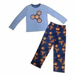 Basketball Fidget Spinner Camo Pajama Set XS