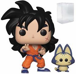 Funko Anime: Dragon Ball Z - Yamcha & Puar Pop Vinyl Figure Includes Compatible Pop Box Protector Case
