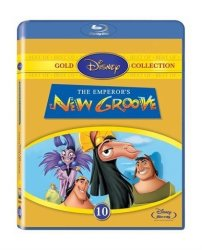 Emperor's New Groove Blu-ray