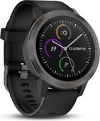 Garmin Vivoactive 3 in Black Slate