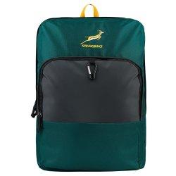 Springbok - Blindside 15L Backpack Blk Gr And Gold