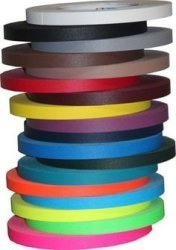 "Pro Gaff Gaffers Spike Tape 1 2"" X 45 Yd Roll You Choose The Color Uv Neons Available White"