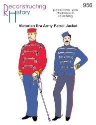 Victorian Era British Army Patrol Jacket Undress Pattern