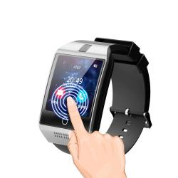 Q18 Touch Screen Smart Watch - White & Gold