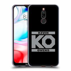Official Wwe Ko Fight Kevin Owens Soft Gel Case Compatible For Xiaomi Redmi 8