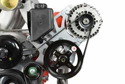ICT Billet Ls Truck suv Alternator & Power Steering Pump Bracket Accessory Kit LS3 Camaro 551521X-3
