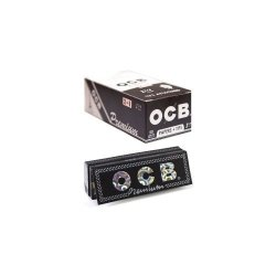 Ocb Premium Rolling Papers W Tips 1 1 4 50 Leaves Unflavored Pack Of 1
