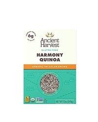 Ancient Harvest Organic Quinoa Harmony Tri-color Blend 12 Oz. Box Essential Gluten-free Whole Grain Quinoa Mix Packed With Prote